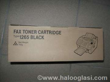 Ricoh Fax Cartridge Type 1265 Black