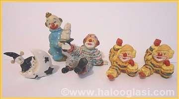 5 pajaca od keramike