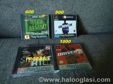 Originalne igrice za PlayStation 1