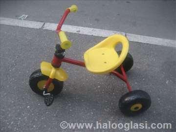 Dečji bicikl, lošije stanje