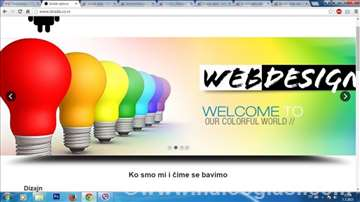 Izrada web sajtova I Android aplikacija