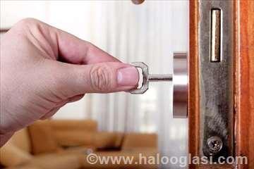 Popravaka vrata, zamena cilindara, rukohvati
