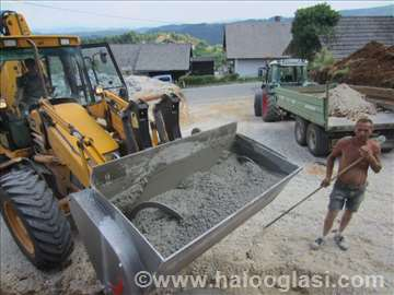 Kašika  (lopata) za mešanje betona (mešalica)