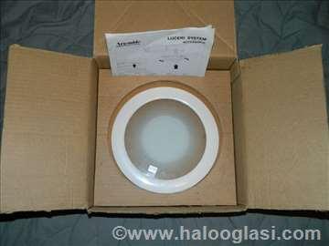 Staklo+okrugli ram za ugradne lampe artemide novo