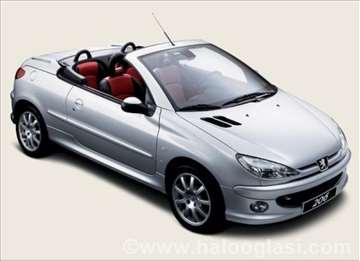 Peugeot 206 CC Hdi benzin stakla