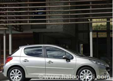 Peugeot 207 Hdi Benzin Enterijer