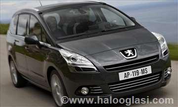 Peugeot 5008 limarijski delovi - krila i blatobran