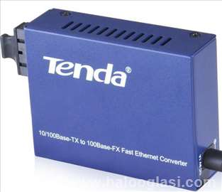10/100 Multi-Mode Media Converter Converts UTP