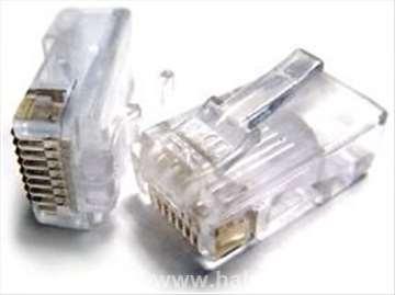 """PLUG3UP6/5 modular 6u"""" RJ45 LAN konektor"""
