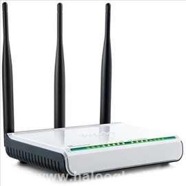 Wireless RangeMax Ruter/AP Repeater 1W/4L
