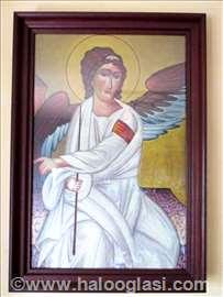 Beli anđeo - ulje na platnu