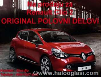 Renault Clio Reno Klio 2 delovi