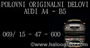 Audi A4 1,8 T Motor I Delovi Motora