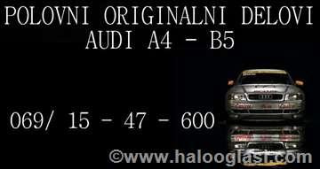 Audi A4 2,5 TDI Quattro Delovi