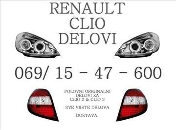 Renault Clio 3 Delovi