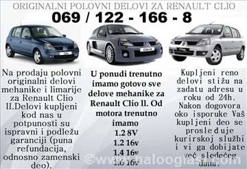 Renault Clio Amortizeri I Opruge