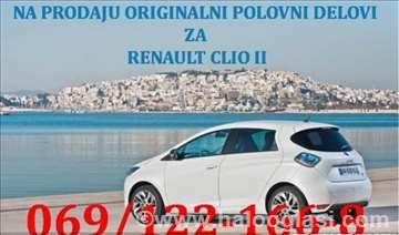 Renault Clio benzin/dizel Enterijer