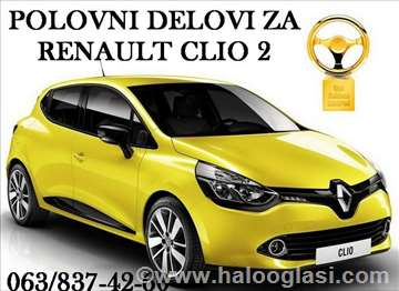 Renault Clio delovi Amortizeri i Opruge