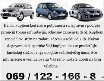 Renault Clio Kocioni Sistem