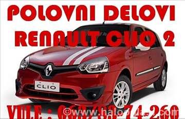 Renault Clio ll 2 Delovi