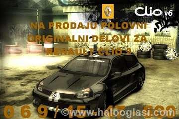 Renault Clio Menjač i Delovi Menjača