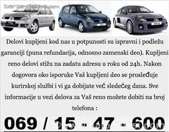 Renault Megane 2 delovi