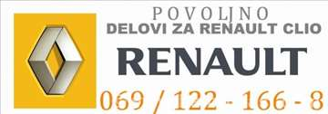 Renault Clio benzin/dizel Menjač i Delovi Menjača