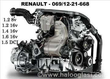Renault Clio benzin/dizel Razni Delovi