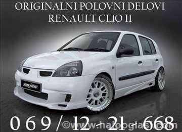 Renault Clio benzin/dizel Stakla