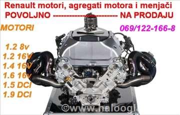 Renault Clio motori i agregati