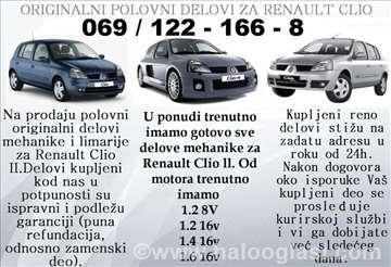Renault Clio Prenosni Sistem
