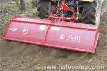 Rotaciona poljska freza Akpil radnog zahvata 210cm