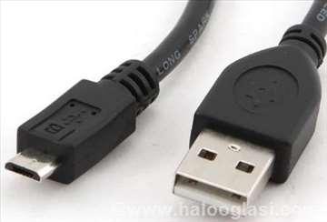 0.3M USB 2.0 A-plug to Micro usb B-plug kabl 0.3m