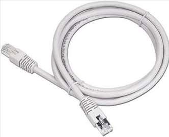 PP13-15M Ukršteni mrežni kabl 15m grey