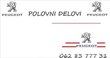 Peugeot 206 BENZIN-DISEL-HDI Motor I Delovi Motora