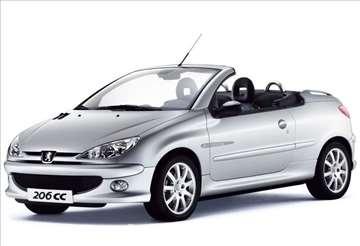 Peugeot 206 CC Menjac I Delovi Menjaca