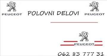 Peugeot 206 CC Razni Delovi