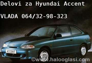 Hyundai Accent - svi delovi