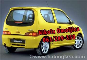 Fiat delovi Nikola Omoljica