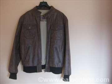 Cotton muška kožna jakna