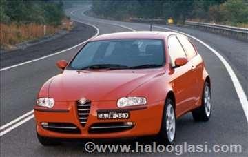 Alfa Romeo 147 Enterijer