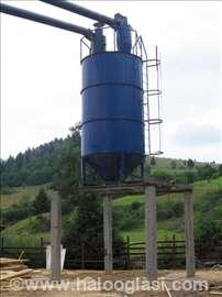 Ciklon za odvajanje čestica prašine i strugotine