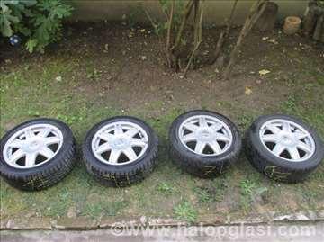 Aluminijumske felne i gume SEAT IBIZA 16 inch