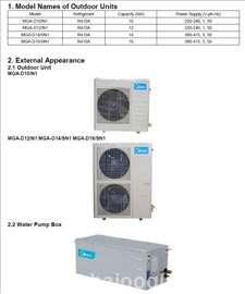 Toplotne pumpe vazduh - voda