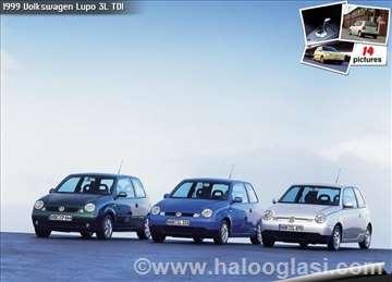Volkswagen Lupo 1 4 16v ostala oprema