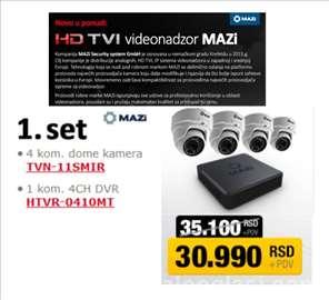 HD TVI Komplet za video nadzor MAZi
