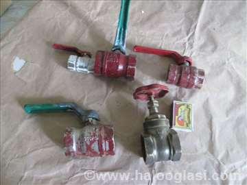 5 kugličastih ventila za grejanje