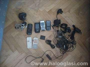 4 telefona neispitanih i oprema