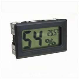 Digitalni LCD higrometar + termometar