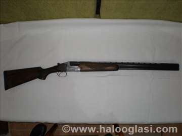 Lovačka puška  Merkel Suhl 12 1 obarača